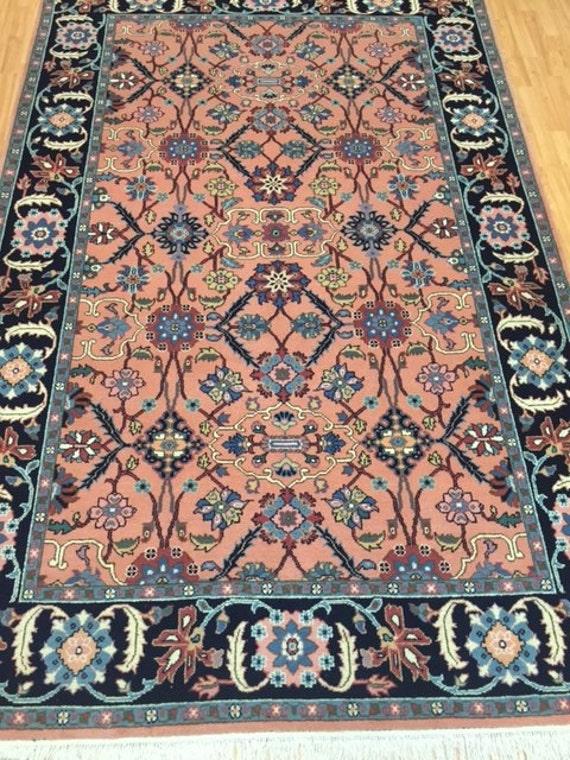 "6' x 9'2"" Romanian Agra Oriental Rug - Hand Made - 100% Wool"