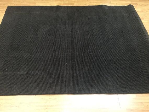 5' x 8' Indian Nepal Oriental Rug - Brown - Modern - Hand Made - 100% Wool