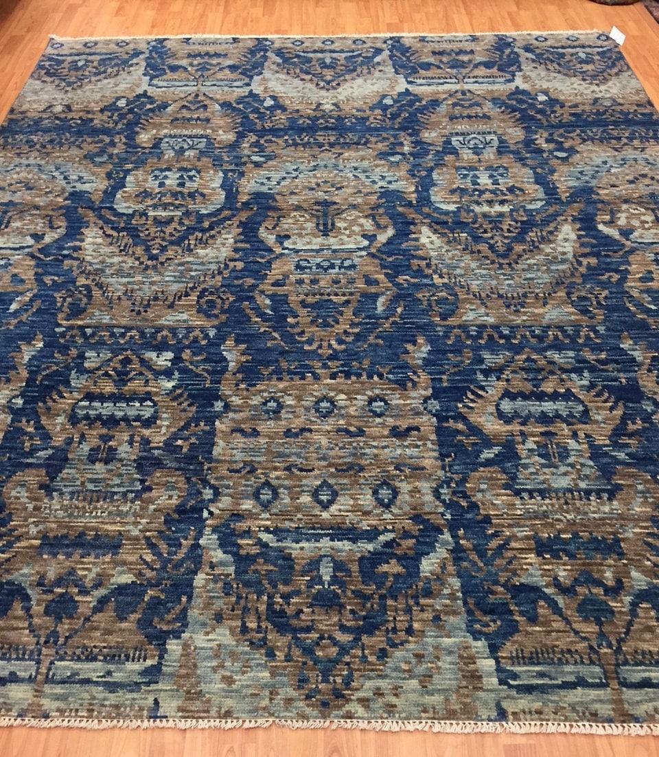 8' X 9'10 Soft Melody Indian Oriental Rug
