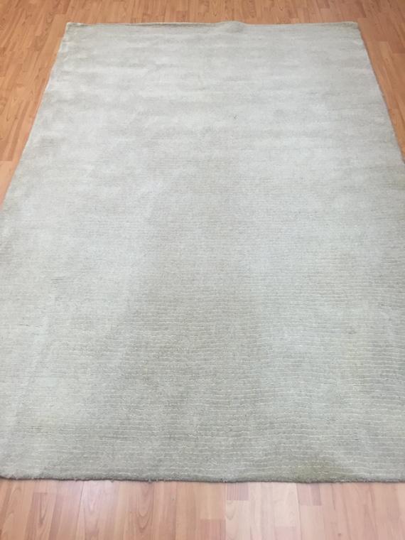 "5'2"" x 7'7"" Indian Nepal Oriental Rug - Modern - Hand Made - Wool and Silk"