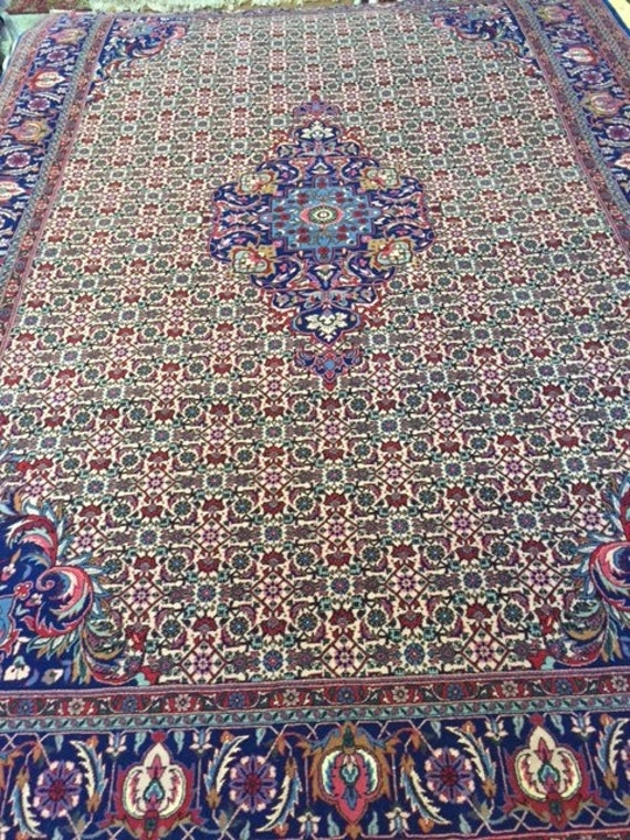"5'8"" x 8'4"" Chinese Tabriz Design Oriental Rug - Wool & Silk - Very Fine"