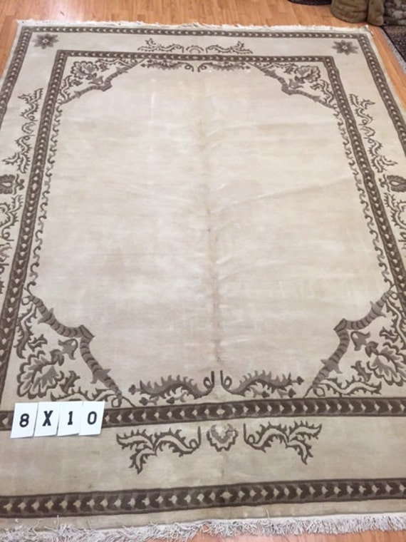 8' x 10' Indian Nepal Oriental Rug - Hand Made - 100% Wool - Very Elegant