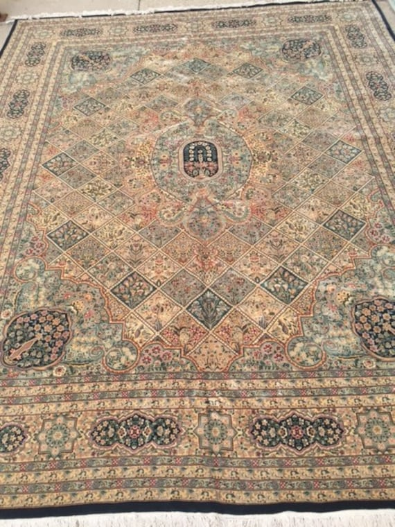 12' x 15' Sino Chinese Oriental Rug - Wool and Silk - Hand Made