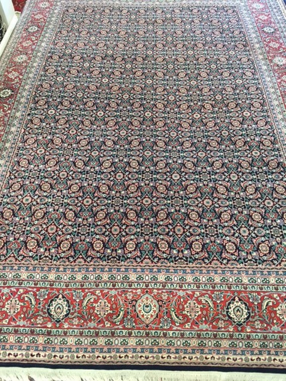 "9'1"" x 12' Sino Chinese Oriental Rug - Very Fine - Hand Made - 100% Kork Wool"