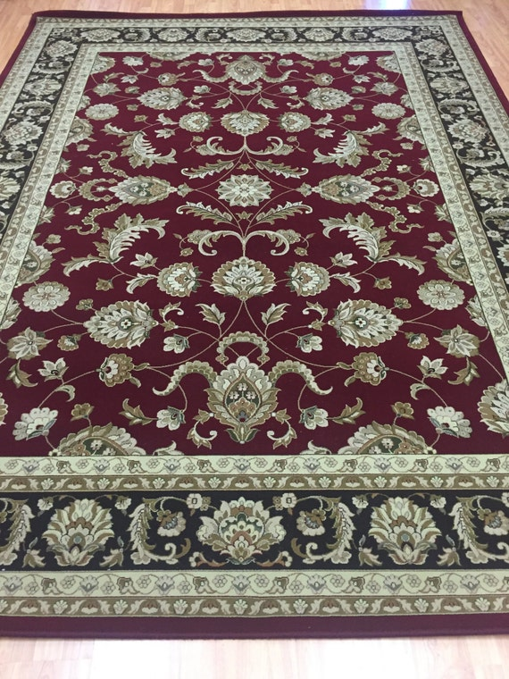 8' x 11' Turkish Kashan Oriental Rug - Tayse Empire Collection