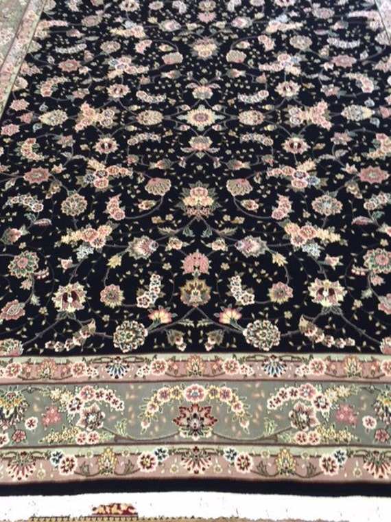 9' x 12' Sino Chinese Oriental Rug - Wool & Silk - Very Fine - Hand Made