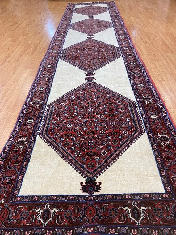 "2'5"" x 10'7"" New Kurdish Floor Runner Oriental Rug - Hand Made - 100% Wool"