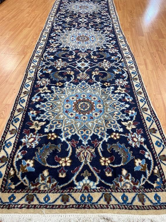 "2'8"" x 9'3"" Royal Turkish Floor Runner Oriental Rug - Hand Made - 100% Wool"