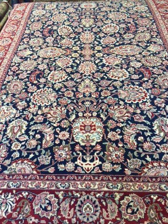 6' x 9' Sino Chinese Oriental Rug - Wool & Silk - Hand Made