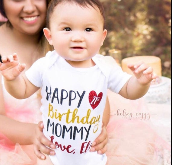 Happy Birthday Mommy Shirt Daddy Baby