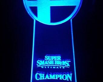 4285ce9d3b8f Supersmash Bros LED Trophy