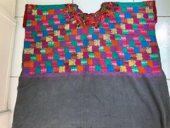 Authentic Vintage Guatemalan Huipil fabric ethnic