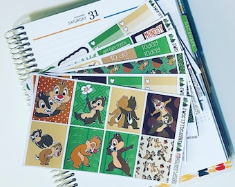 Deluxe Weekly Planner Sticker Kit or Hobonichi Kit