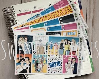 Deluxe EC Weekly Planner Sticker Kit