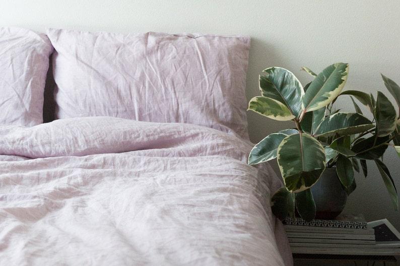 Caribbean. Linen bedding set. Linen duvet cover linen image 0