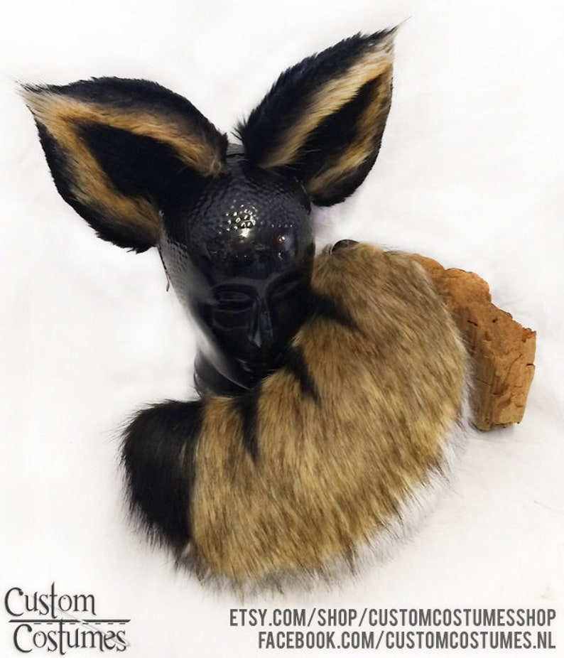 Made to order! Bobcat ears and tail