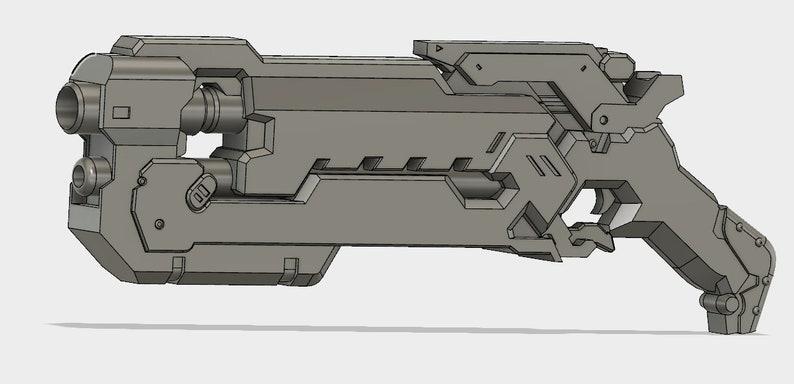 Reaper Soldier: 24 Hellfire Shotgun 3d printed kits. image 0