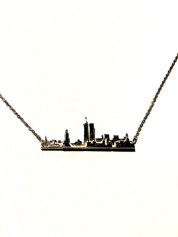 NY City Charm 14k Gold