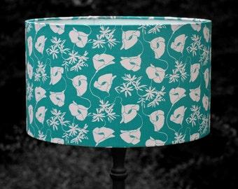 Jade floral lampshade