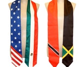Mixed Flags Graduation Stoles (Ask for Flags)