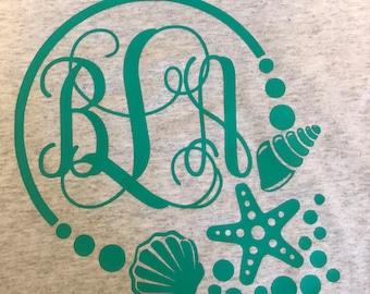 Beach Monogram shirt