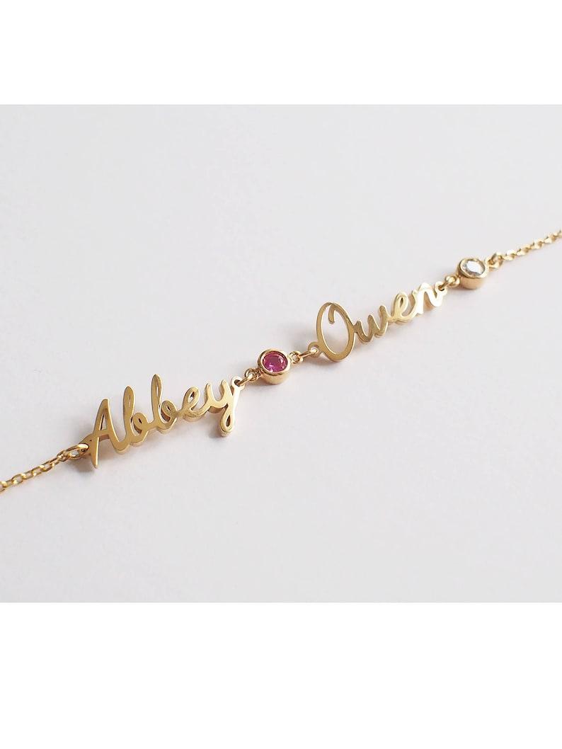 Name Bracelet / Personalized Bracelet / Baby Names Bracelet / image 0