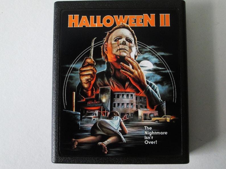 Atari 2600 Halloween II Video Game Cartridge  FREE image 0