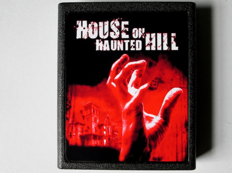 Atari 2600 The House On Haunted Hill Video Game Cartridge  image 0