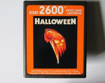 Atari 2600 Halloween Video Game Cartridge < FREE SHIPPING >