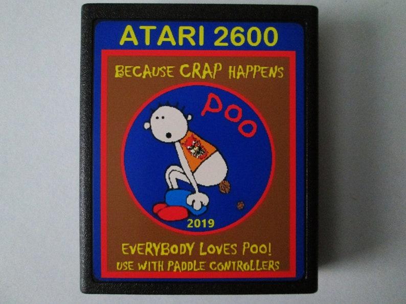 Atari 2600 POO  Because CRAP Happens Video Game image 0