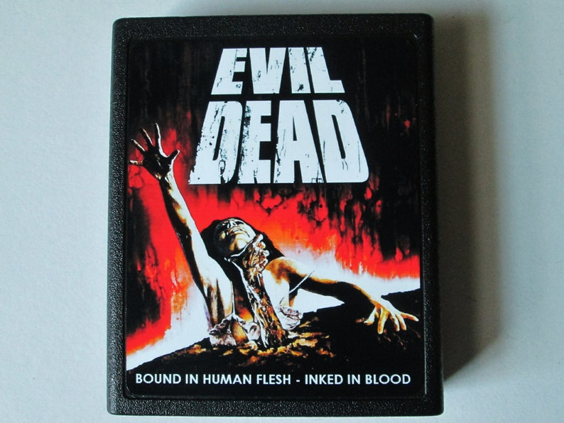 Atari 2600 Evil Dead Video Game Cartridge  FREE SHIPPING image 0