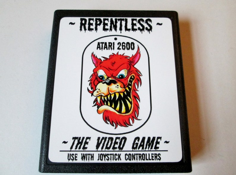 Atari 2600 REPENTLESS   The Video Game   Video image 0