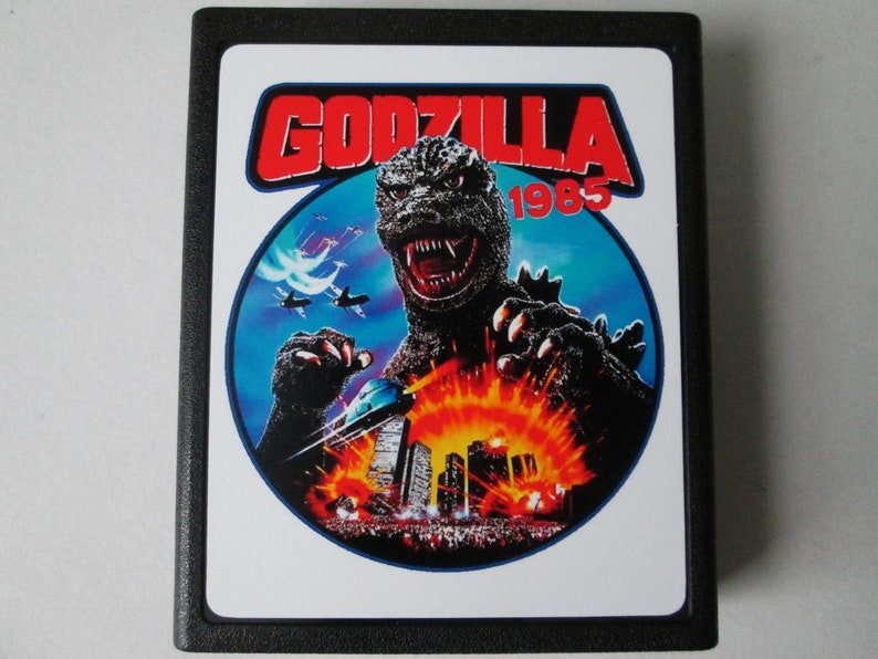 Atari 2600 GODZILLA NORMAL VERSION Video Game Cartridge image 0