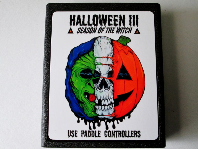 Atari 2600 Halloween III Video Game Cartridge  FREE image 0
