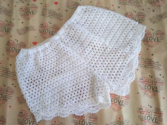 crochet shorts pattern