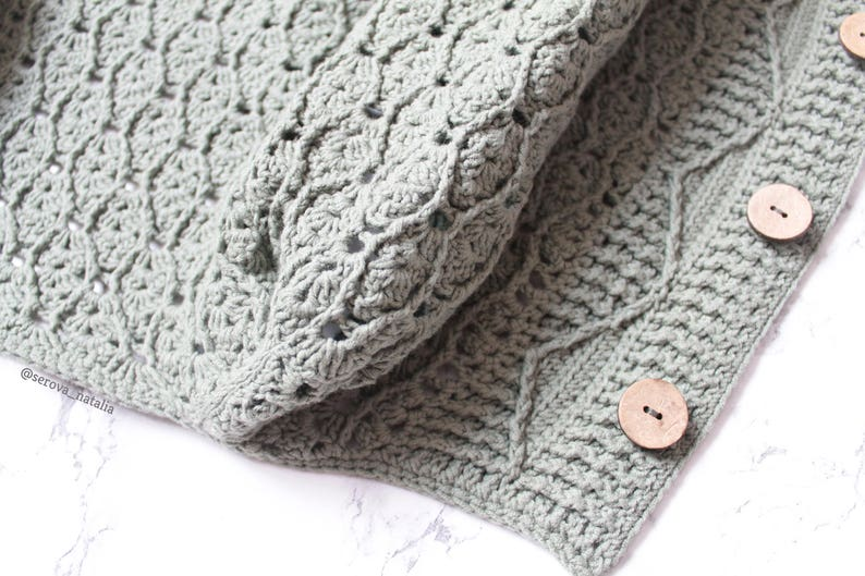 Crochet Cardigan Pattern Crochet Coat Pattern Crochet Etsy