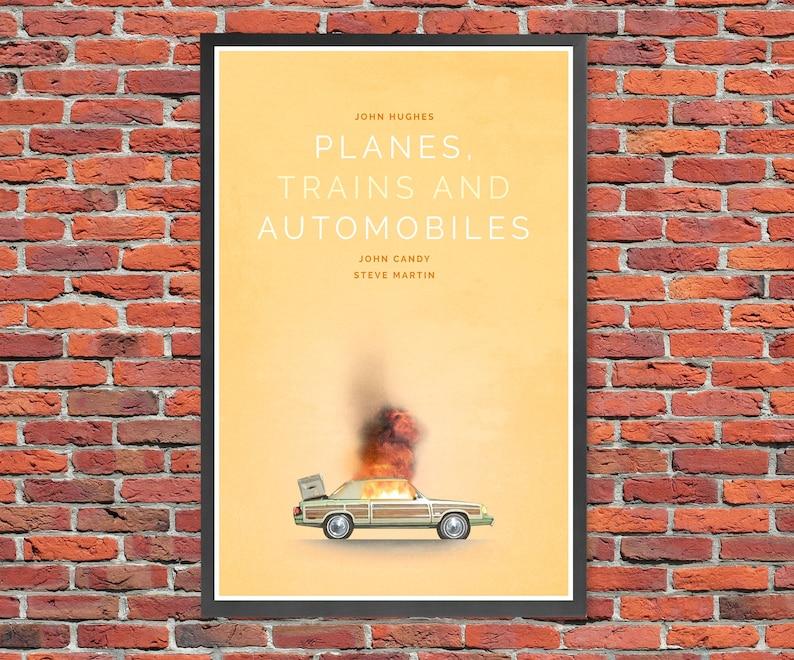 Planes Trains & Automobiles  Movie Poster Print image 0