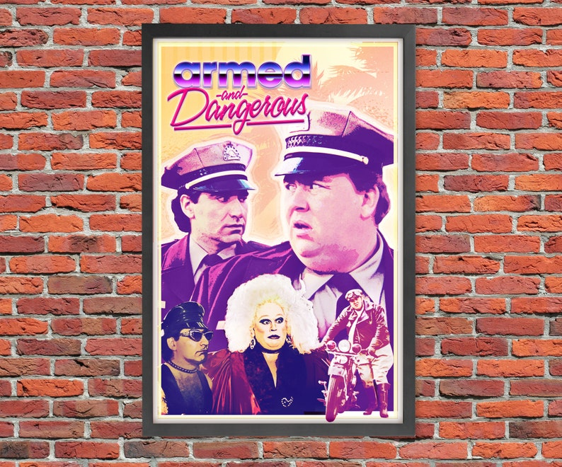 Armed And Dangerous  Movie Poster Print image 0