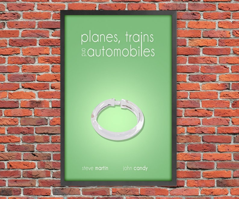 Planes Trains and Automobiles  Movie Poster Print image 0