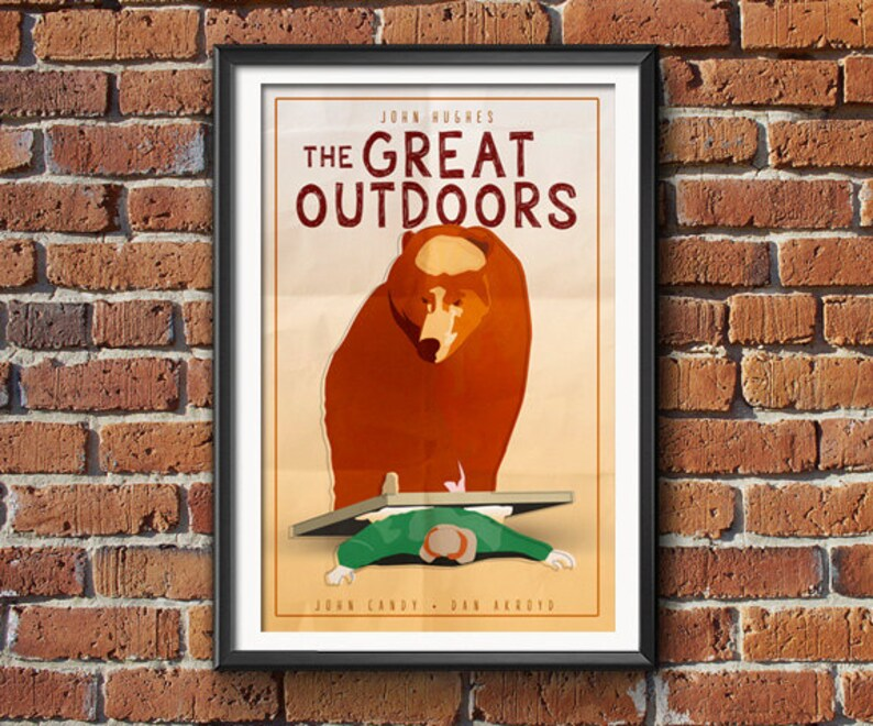 The Great Outdoors  Movie Poster Print image 0