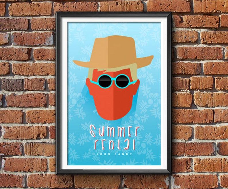 Summer Rental  Movie Poster Print image 0