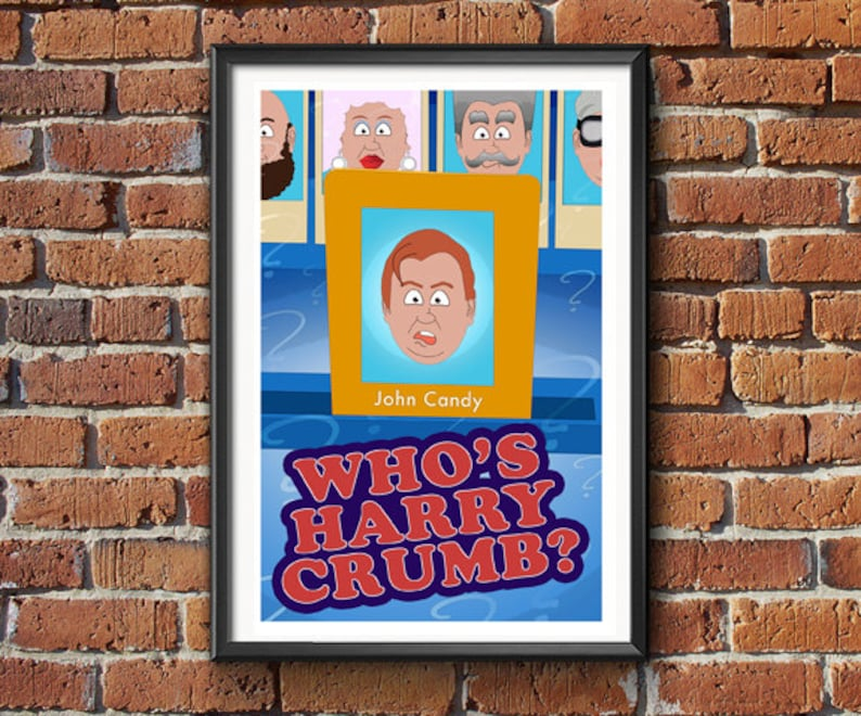 Who's Harry Crumb  Movie Poster Print image 0