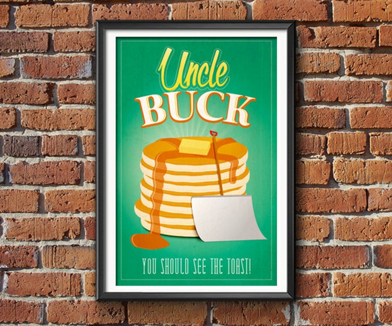 Uncle Buck  Movie Poster Print image 0