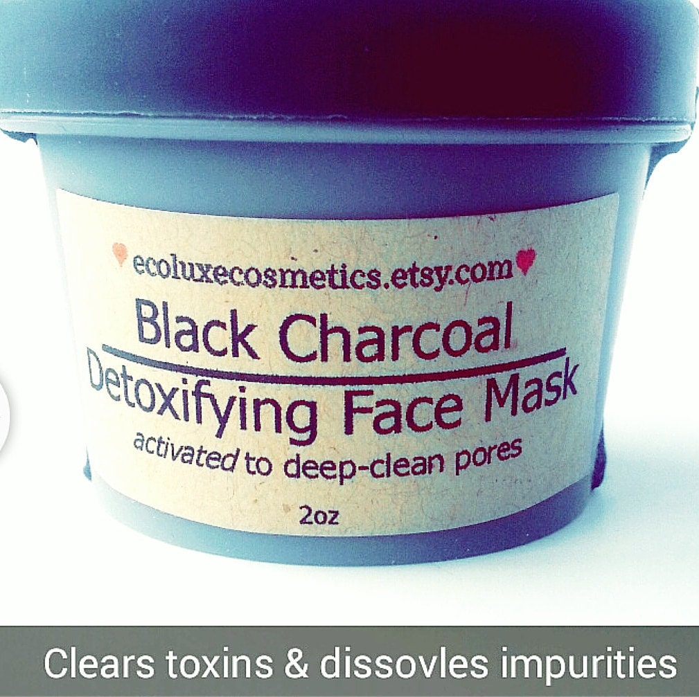 Organic Activated Charcoal Face Mask: Activated Charcoal Face Mask Organic Skincare Pore