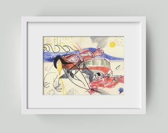 Abstract image 15/20 cm (5.9/7,87 inch)