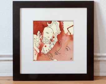 Contemporary art 15/15 cm (5.9/5.9 inch)