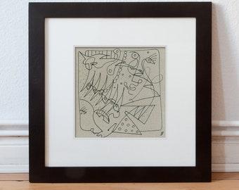 Abstract wall Painting-Original drawing