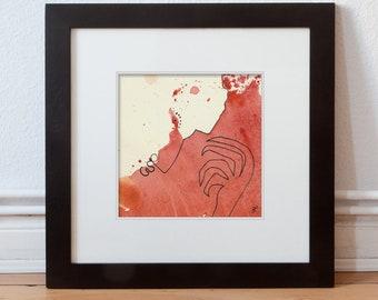 Free contemporary Art 15/15 cm (5.9/5.9 inch)