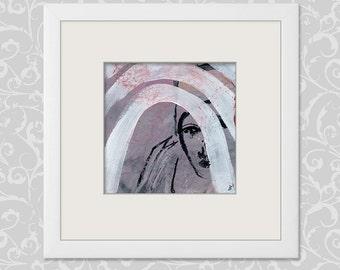 Emotions Art 15 x 15 cm (5.9 x 5.9 inch)