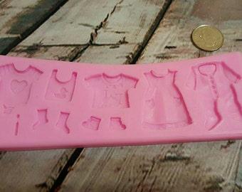 Baby Toys Border Silicone Mold